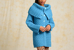 Cabled Coat Yarn Kit ($11/ball)