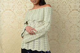 Coquilles Pullover Yarn Kit ($46/ball)