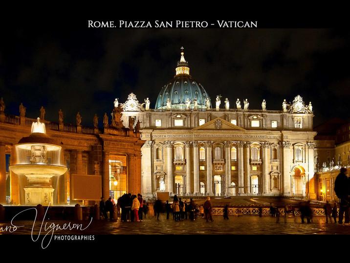 Rome. Piazza San Pietro - Vatican