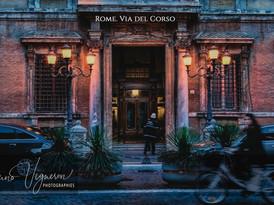Rome. Via del Corso