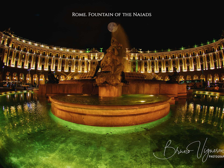 Rome. Fountain of the Naiads