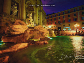 Rome. The Trevi Fountain