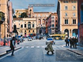 Rome. Near Piazza Venezia