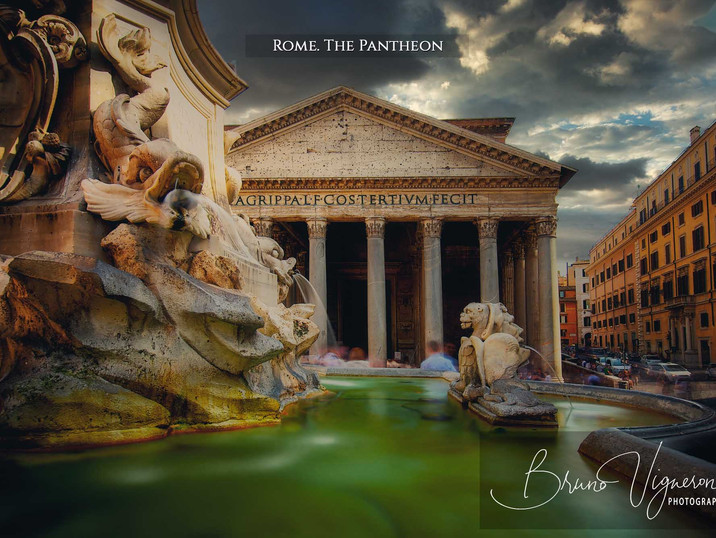 Rome. The Pantheon
