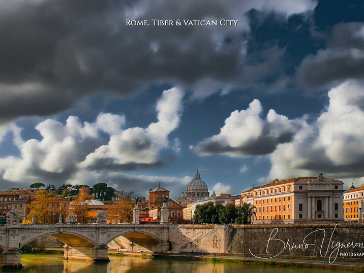 Rome. Tiber & Vatican City