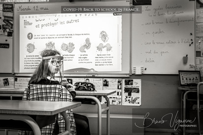 Covid-19. Back to school in France