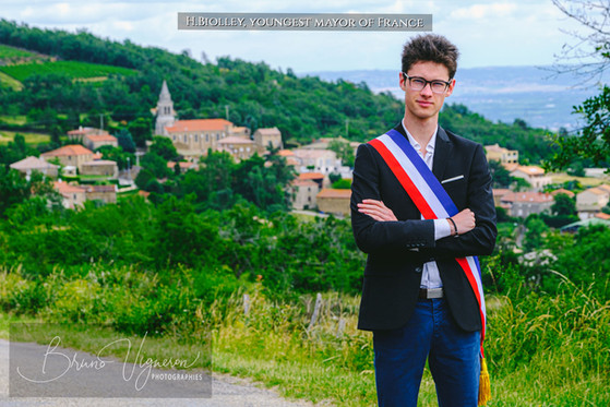Hugo Biolley, youngest mayor of France