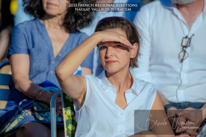 2021 French regional elections - Najat Vallaud-Belkacem