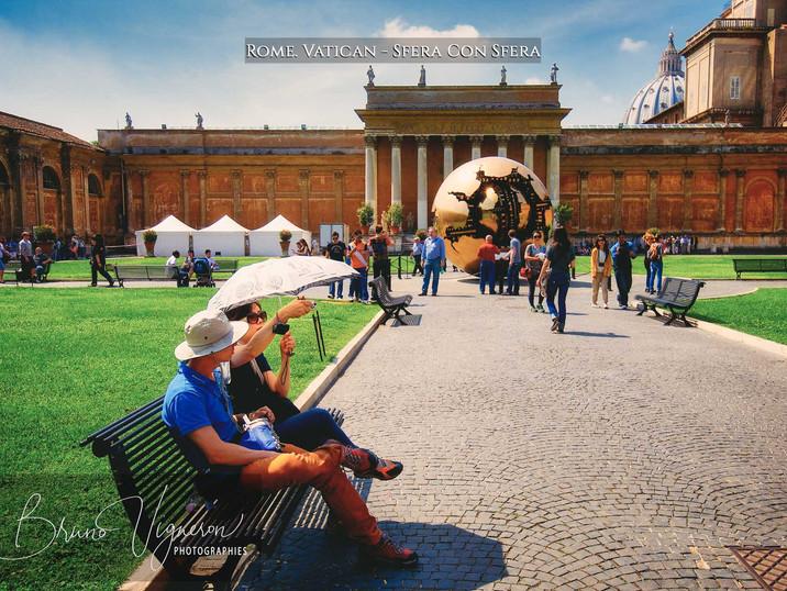 Rome. Vatican - Sfera Con Sfera