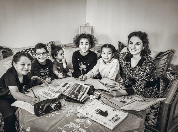 Adeline & les enfants