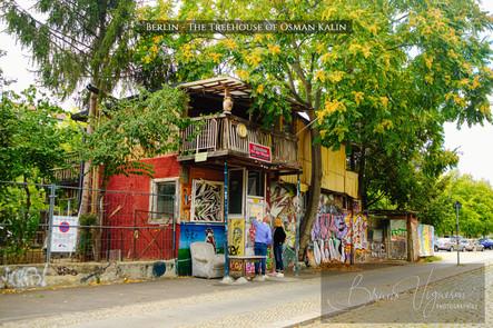Baumhaus an der Mauer