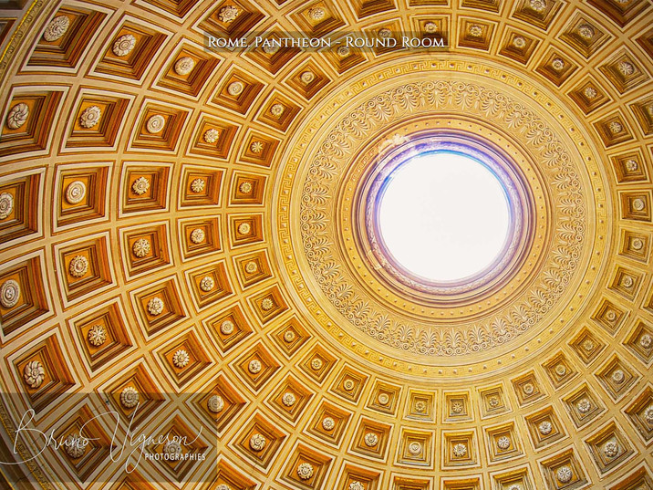 Rome. Pantheon - Round Room