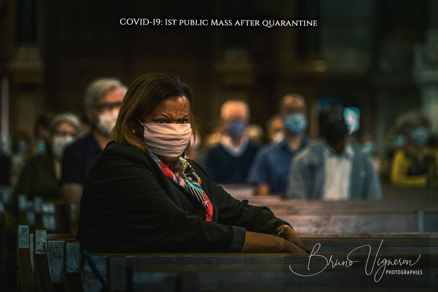 1st public Mass after quarantine