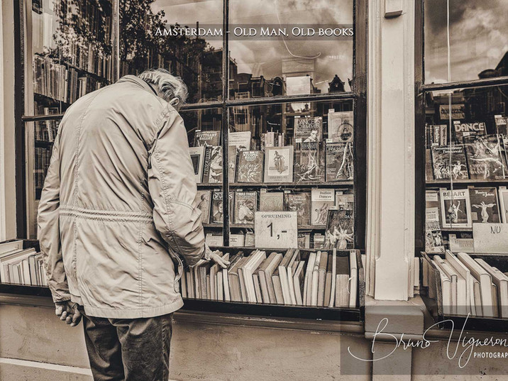 Amsterdam - Old Man, Old books