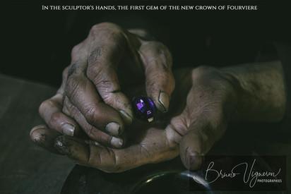 Sculptor's hands