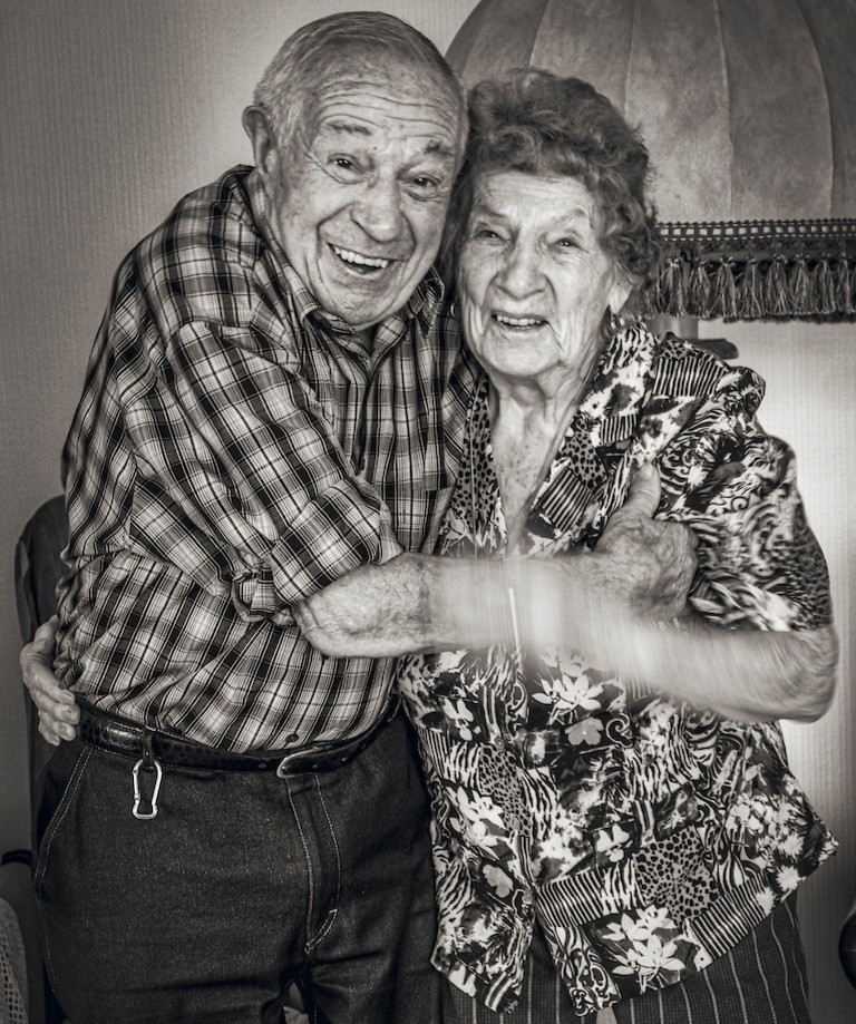 98 & 96 years old. Always in love, married since 74 yers