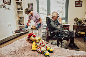 Inside a care home during Covid-19