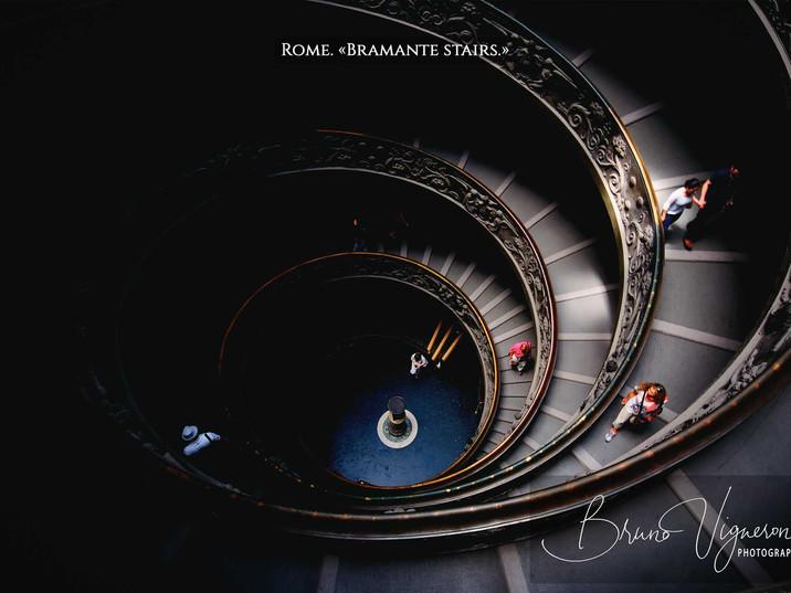 Rome. «Bramante stairs»