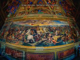 Rome. Vatican - Battle at Milvio Bridge