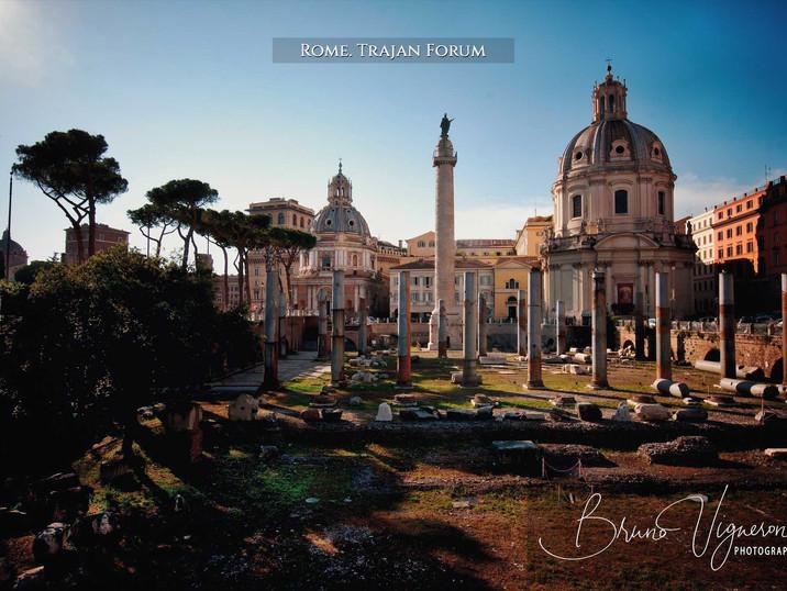 Rome. Trajan Forum