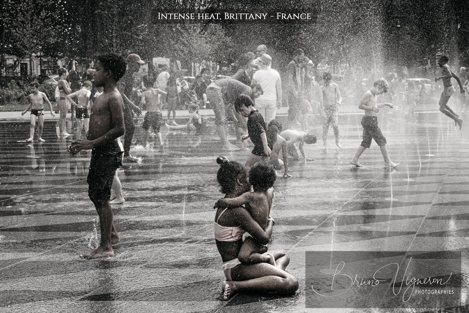 Intense Heat. Nantes, France