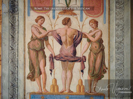 Rome. Vatican - The Three Graces