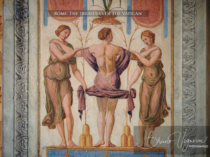 Rome. Vatican - The Three Graces