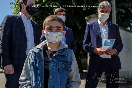 Covid-19 Laurent Wauquiez brings masks f