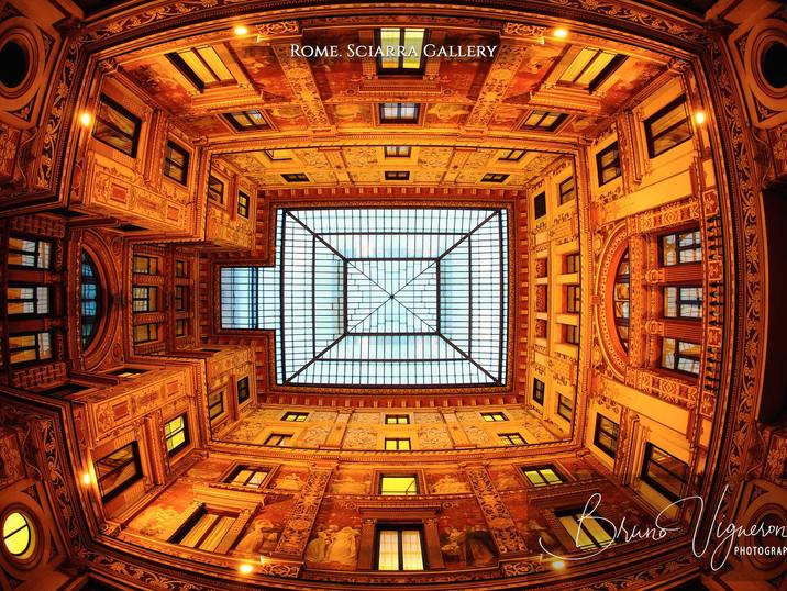 Rome. Sciarra Gallery