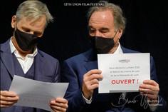 Vigo Mortensen & Oliver Stone