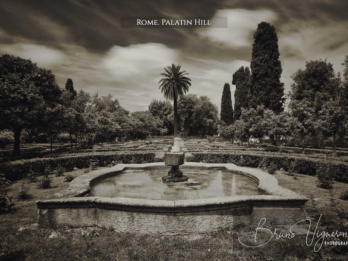 Rome. Palatin Hill - Boni Garden
