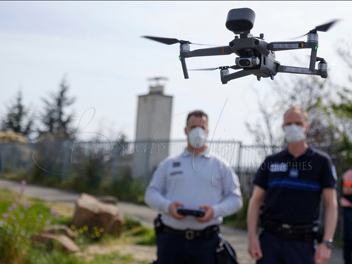 Drones: A new tool used by the police force