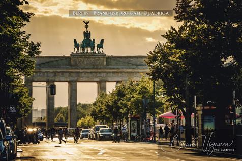 Brandenburg Gate. Quadriga