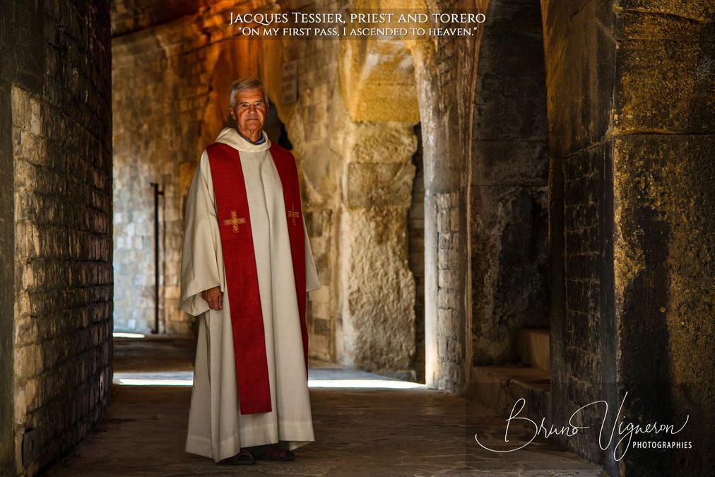 Jacques Tessier,priest & torero