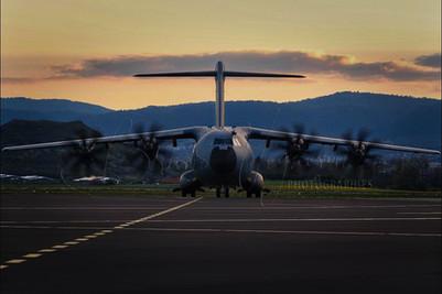 COVID A400M - First medical Flight