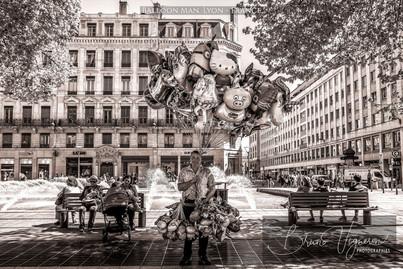 Ballon Man - Lyon, France