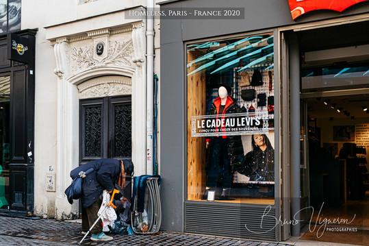 Homeless Paris 2020