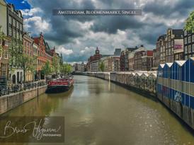 Amsterdam, Bloemenmarkt, Singel