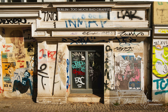 Too much bad graffiti