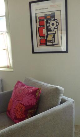 Detail living room.