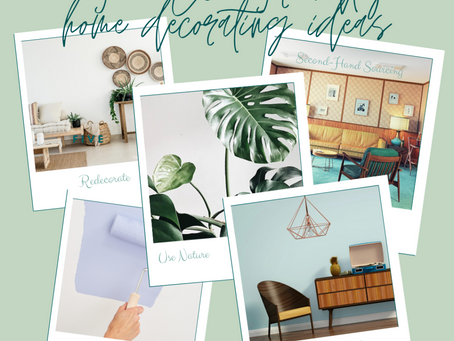 5 Eco-Friendly Home Decorating Ideas