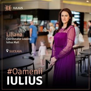 Liliana Bejinariu: Sunt un copil IULIUS