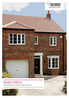 Rehau Total 70 Brochure front page.png