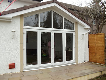 Bi-Folding Doors in a new extension