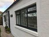 Black.upvc,window,lanark,