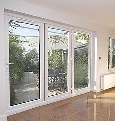 upvc and aluminium bi-folding doors scotland