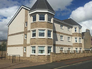 New Build flats in Wishaw