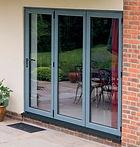 Aluminium Bi-folding doors wishaw