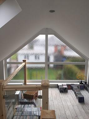 Shaped upvc windows in scotland