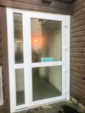 upvc emergency doors scotland